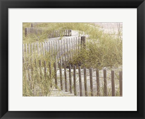 Framed Coastal Photograpy Untextured Print