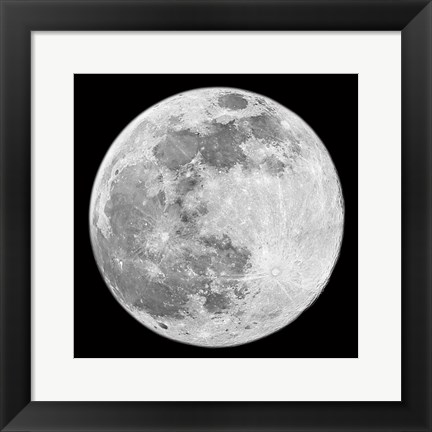 Framed To The Moon 2 Print