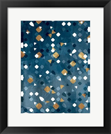 Framed Lost In Abstract Print