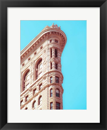 Framed Flat Iron Curves 1 Print