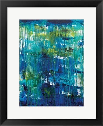 Framed Water Abstraction Print