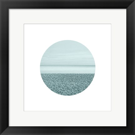 Framed Window Into The Sea 1 Print