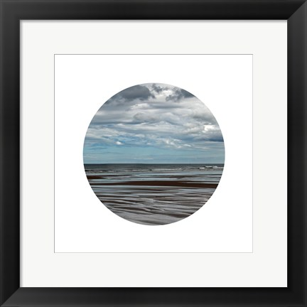 Framed Window Into The Sea 2 Print