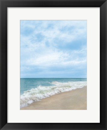 Framed Summertime Breeze Beach Print