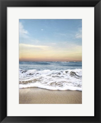 Framed Sunrising Wave Curl Print