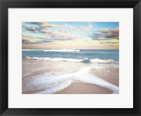 Framed Splitting Waves Print