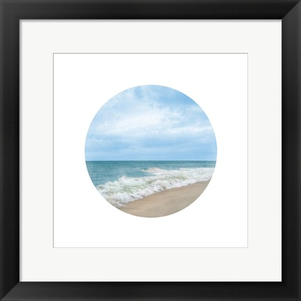 Framed Waves To Sea 2 Print