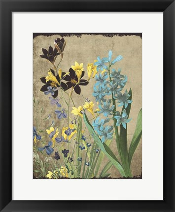 Framed Fresh Meadow Bloom Print