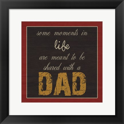 Framed Only You DaD Print