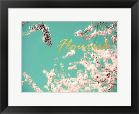 Framed Flourish Apple Sky Print