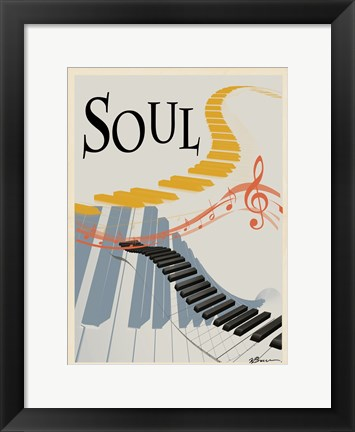 Framed Soul Keys Print