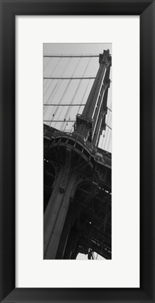 Framed I Am New York Print
