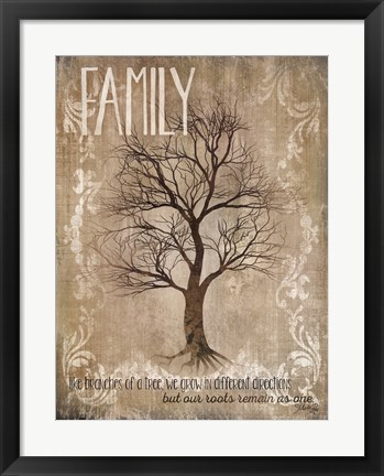 Framed Family - Like Branches Of A Tree Print