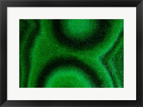 Framed Malachite 2 Print