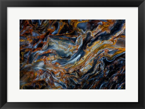 Framed Pietersite from Namibia 5 Print