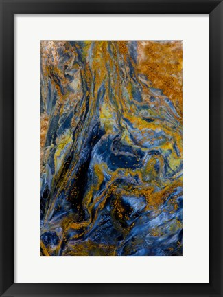 Framed Pietersite from Namibia 6 Print