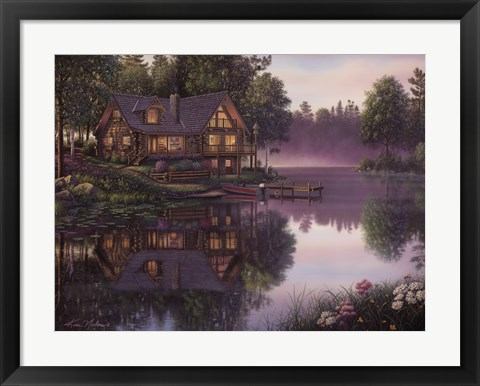 Framed Cabin Fever Print