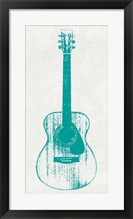 Framed Guitar Collectior I Print