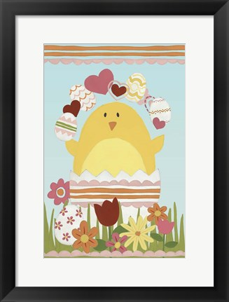 Framed Easter Sweeties I Print