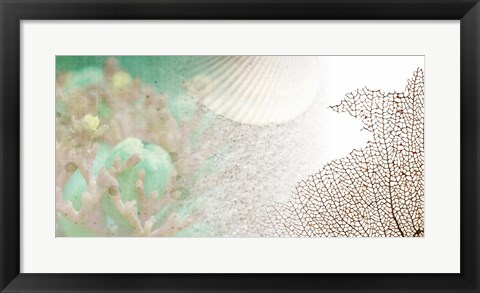 Framed Serene Photo Collage II Print