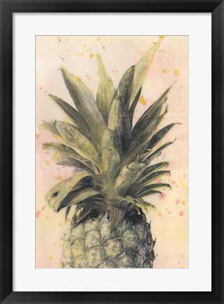 Framed Pineapple Delight I Print