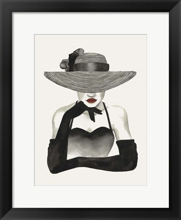 Framed In Vogue II Print