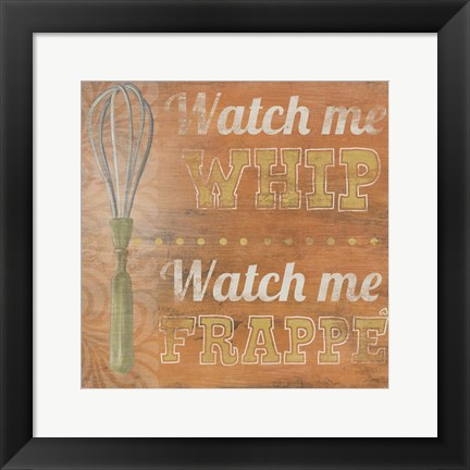 Framed Hip Kitchen IV Print