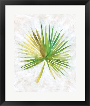 Framed Ocean Side Palms  II Print