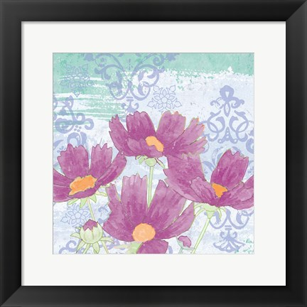 Framed Coreopsis Tangle III Print