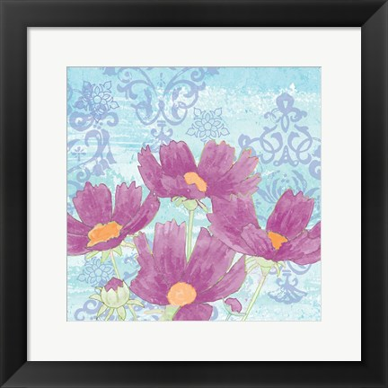Framed Coreopsis Tangle IV Print