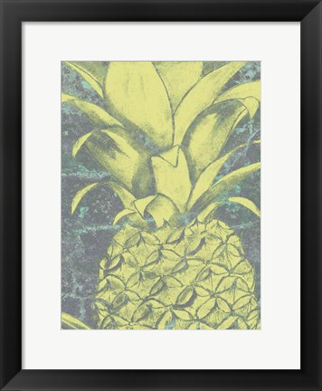 Framed Kona Pineapple II Print