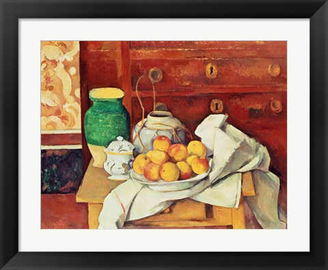 Framed Still Life with a Chest of Drawers, 1883-87 Print