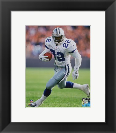 Framed Emmitt Smith 1998 Action Print