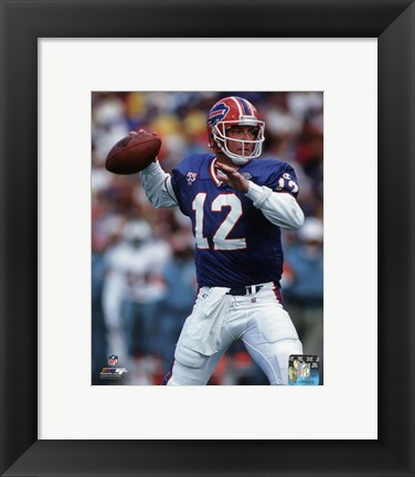 Framed Jim Kelly 1994 Action Print