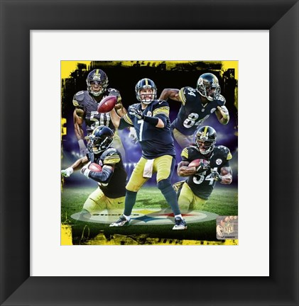 Framed Pittsburgh Steelers 2016 Team Composite Print