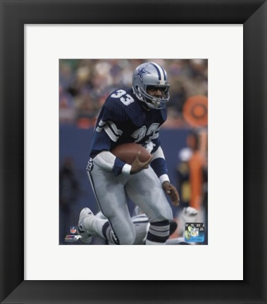 Framed Tony Dorsett 1981 Action Print