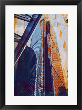 Framed HK Architecture 1 Print