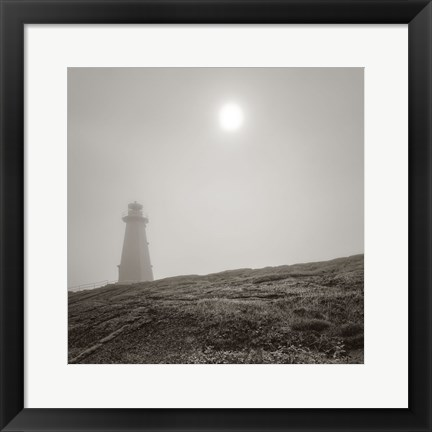 Framed Cape Spear Print