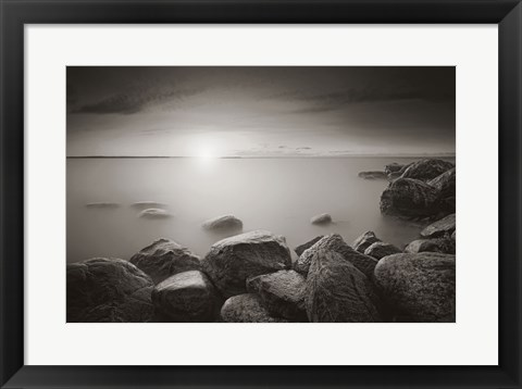 Framed Romancing The Stones II Print