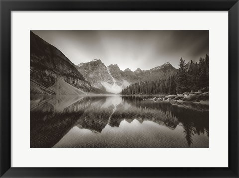 Framed Morraine Lake Print