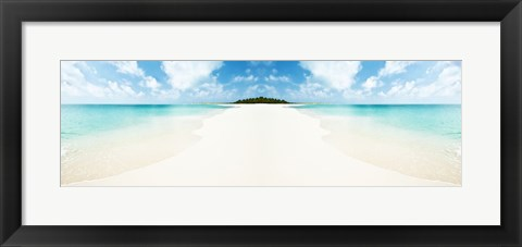 Framed Magical Island Print