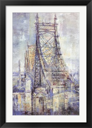Framed Manhattan Crossing II Print