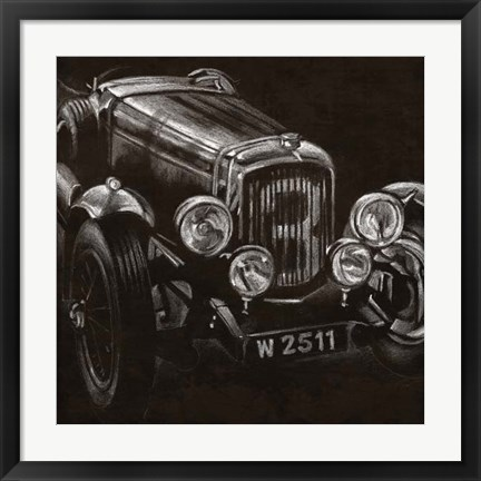 Framed Vintage Grand Prix I Print