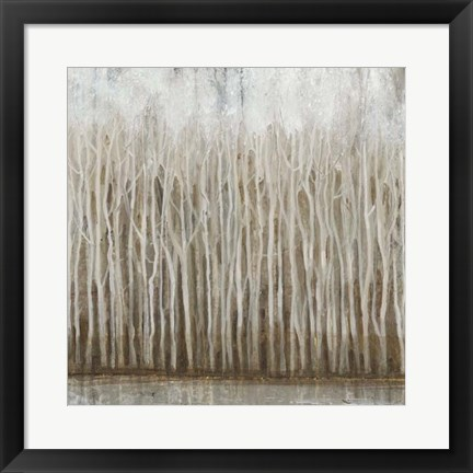 Framed Whispering Trees I Print