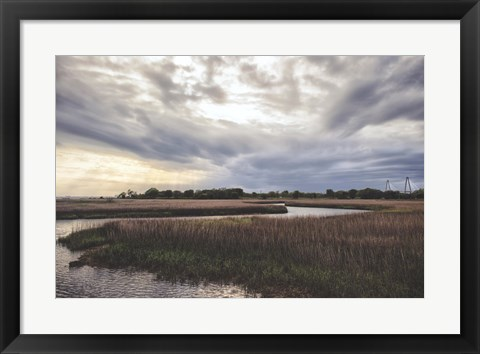 Framed Low Country Sunset II Print
