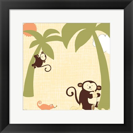 Framed Baby Jungle II Print