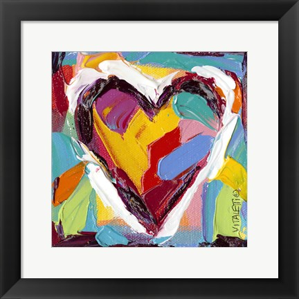 Framed Colorful Expressions II Print