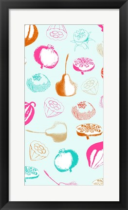 Framed Fruit Juice II Print