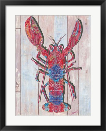 Framed Lobster II Print