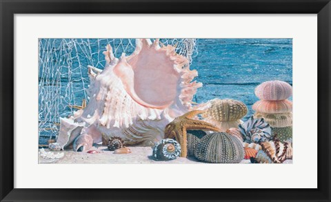 Framed Gifts from the Sea I Print